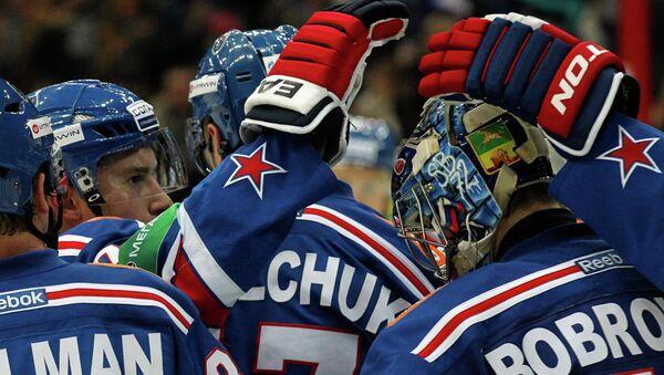 Хоккеисты СКА. Архив