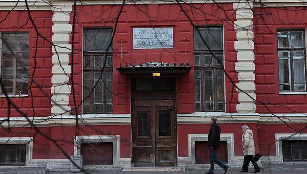 Здание Военно-медицинской академии, архивное фото