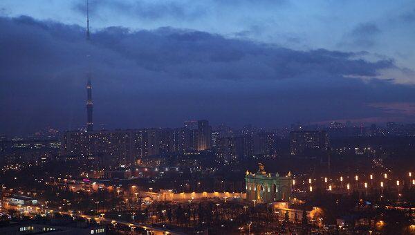 Запах гари может появиться в ряде районов Москвы в ночь на вторник