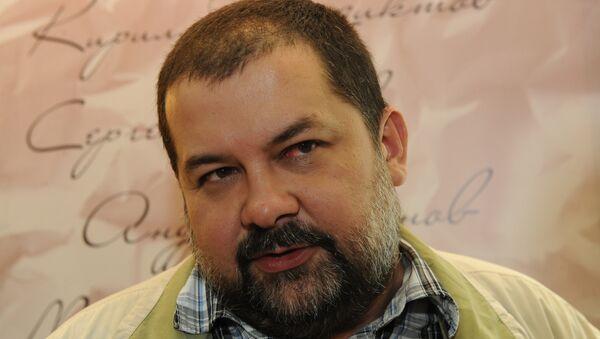 Писатель-фантаст Сергей Лукьяненко. Архивное фото