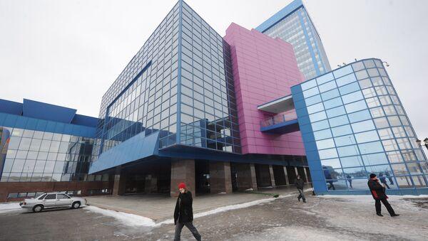 Здание завода ОАО АвтоВАЗ в Тольятти. Архив