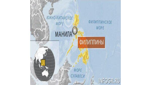 Филиппины. Карта