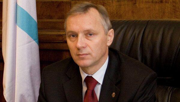 Директор Центрального музея ВМФ России А.Я.  Лялин