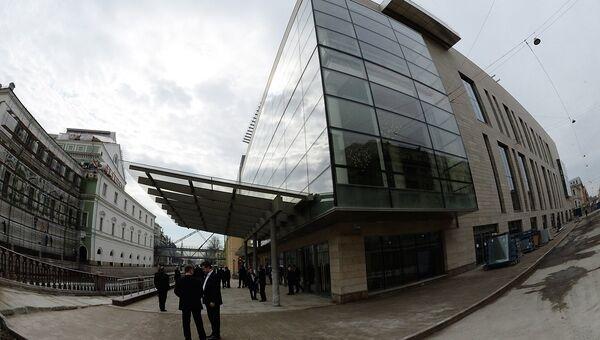 Здание новой сцены Мариинского театра
