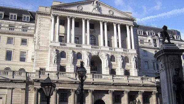 Здание банка Англии. Архивное фото.