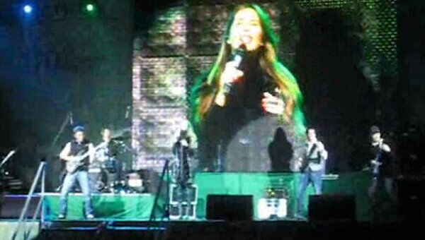 Группа А-студио выступила на Театральной площади в Краснодаре