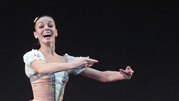 Артистка балета Михайловского театра Наталья Осипова. Архивное фото