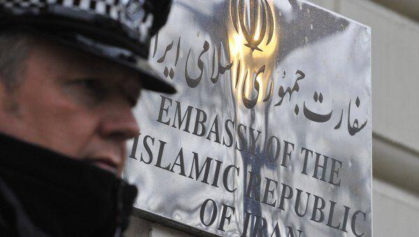 Посольство Ирана в Великобритании, архивное фото