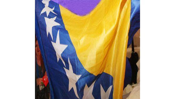 Флаг Боснии и Герцеговины. Архив