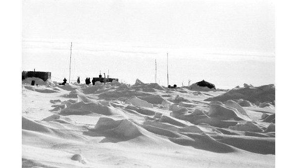 Северный полюс. Архив