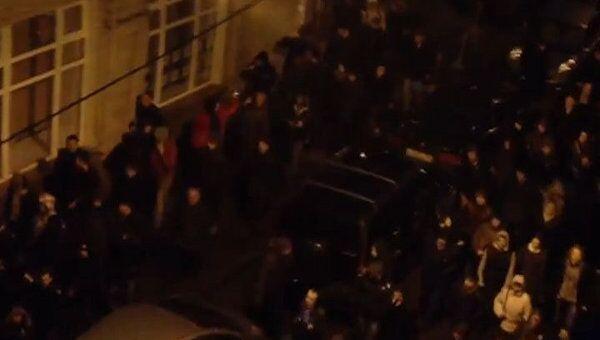 Митинг на Чистопрудном бульваре и шествие по улицам Москвы