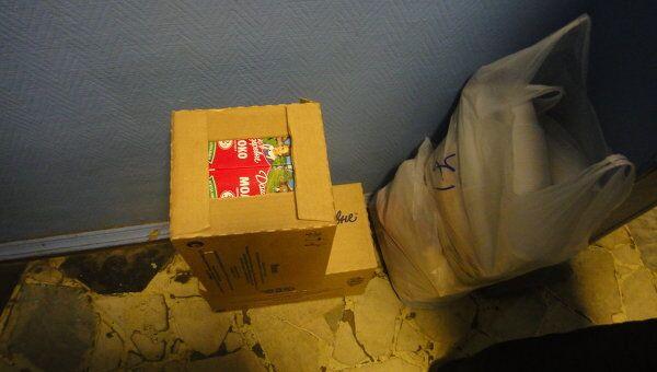 Доктор Лиза передала задержанным после митинга коробки с продуктами