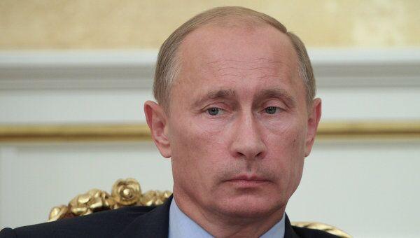 Глава правительства РФ Владимир Путин