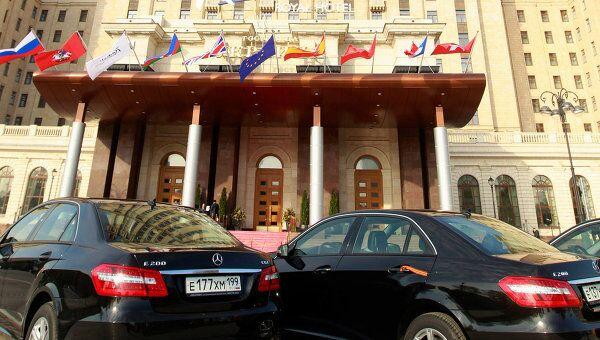 Гостиница Radisson Royal Hotel, Moscow (гостиница Украина)