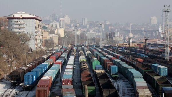 Железнодорожное депо, архивное фото