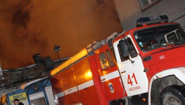 В тушении огня было задействовано 20 пожарных расчетов
