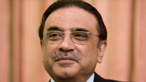 Президент Пакистана Асиф али Зардари. Архив