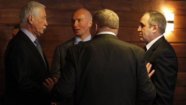 Президент РФ Д.Медведев встретился с представителями парламентских партий