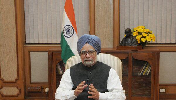 Премьер-министр Индии Манмохан Сингх. Архив