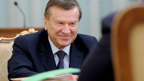 Первый заместитель председателя правительства РФ Виктор Зубков. Архив