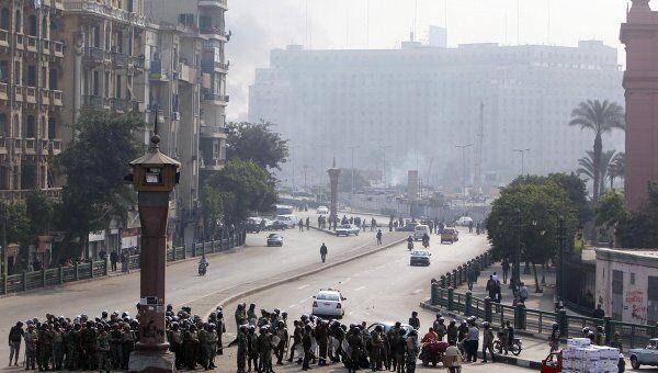 Беспорядки на площади Тахрир в Каире 17 декабря 2011 года