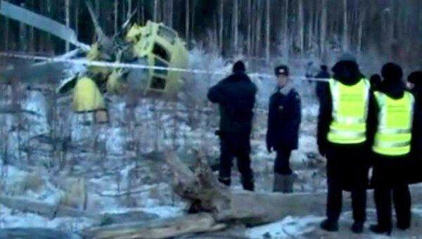 Врач рассказал о состоянии пострадавших при аварии вертолета Ми-26