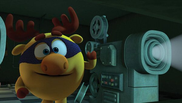 Кадр из мультфильма Смешарики