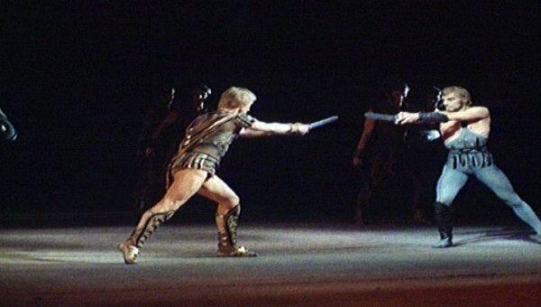 Фрагмент балета Спартак в постановке Юрия Григоровича. Архивные кадры