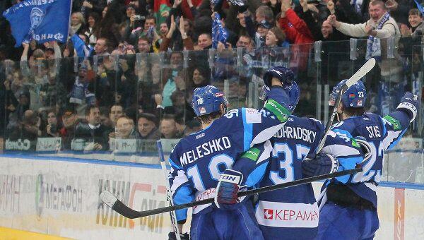 Хоккеисты минского Динамо. Архивное фото