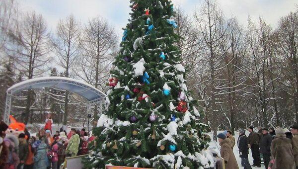 Новогодний праздник в Москве для детей