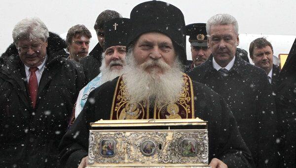 Настоятель греческого Ватопедского монастыря архимандрит Ефрем. Архив