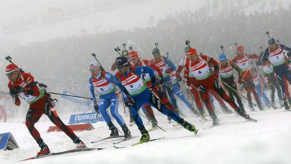 IV этап Кубка мира по биатлону. Мужчины. Масс-старт