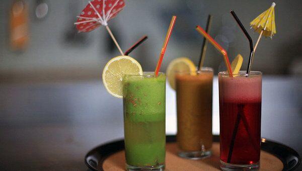 Напитки, способствующие очищению организма. Видеорецепт