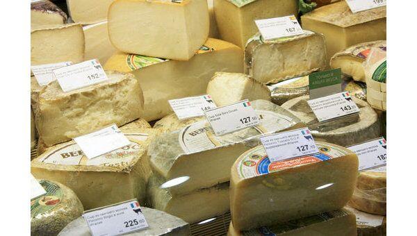 Сыр в продаже. Архив