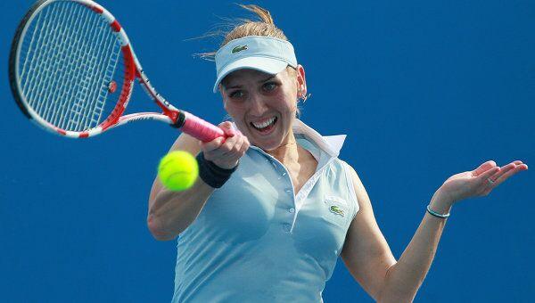 Российская теннисистка Елена Веснина. Архивное фото