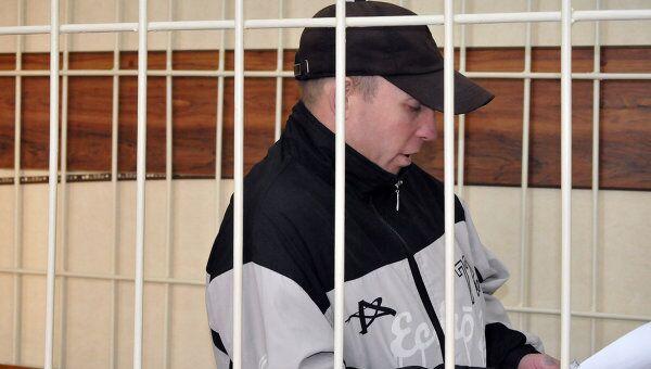Обвиняемый в нападении на детей в лагере Таежный Сергей Пашков