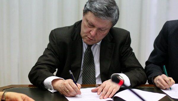Лидер партии Яблоко Григорий Явлинский. Архив