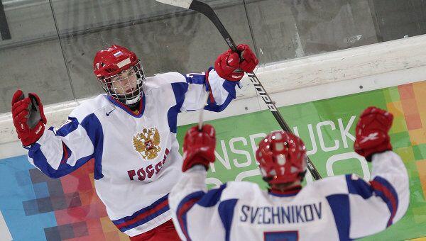 Максим Лазарев и Евгений Свечников (слева направо)