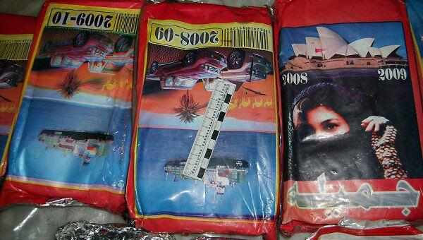 Афганский героин в «фабричной» упаковке