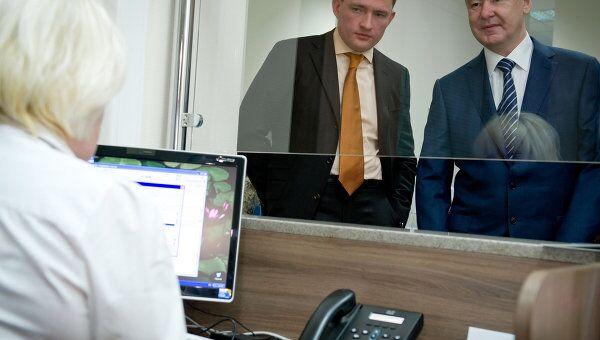 С.Собянин посетил многофункциональный центр предоставления государственных услуг района Свиблово
