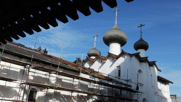 Соловецкий монастырь. Архивное фото