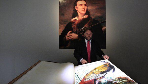 Книга Птицы Америки Джона Джеймса Одюбона продана на торгах в США за 7 миллионов 922 тысячи долларов