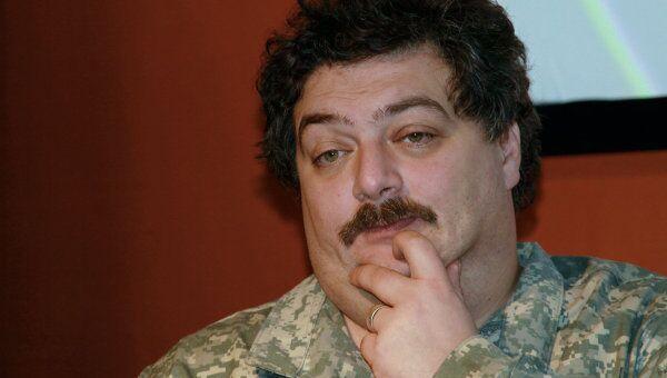 Журналист Дмитрий Быкова