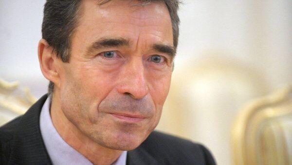 Генеральный секретарь НАТО Андрес Фог Расмуссен. Архив