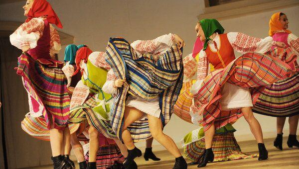 Белорусский танец Бульба. Ансамбль народного танца имени Игоря Моисеева
