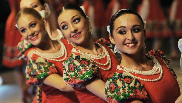 Русский танец Лето. Ансамбль народного танца имени Игоря Моисеева