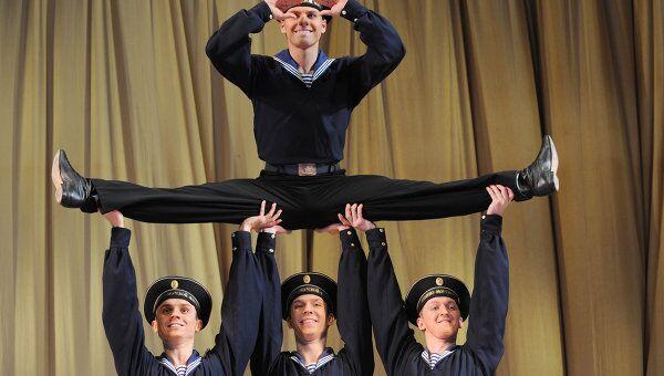 Танец Яблочко. Ансамбль народного танца имени Игоря Моисеева