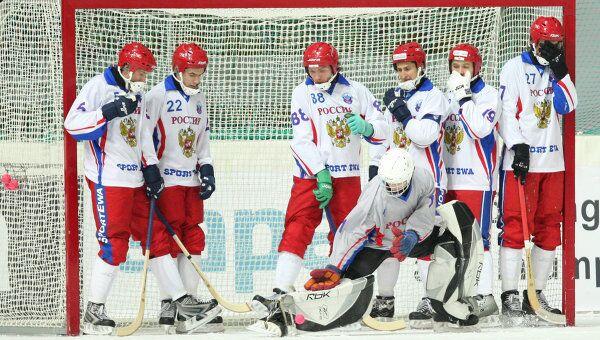 Чемпионат мира по хоккею с мячом Россия – Казахстан - 16:3