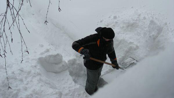 Снегопад на Балканах