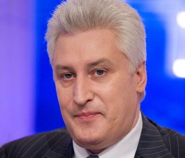 Председатель общественного совета при Минобороны РФ, главный редактор журнала Национальная оборона Игорь Коротченко